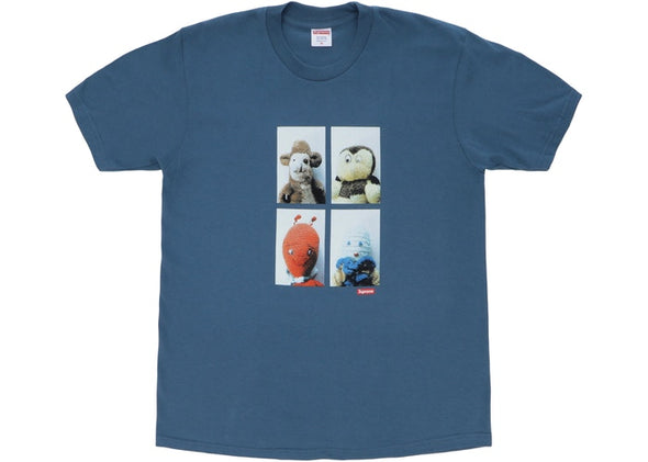 SUPREME X MIKE KELLEY AHHYOUTH TEE ''SLATE''