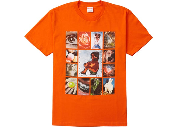 "SUPREME ORIGINAL SIN TEE ""ORANGE"""