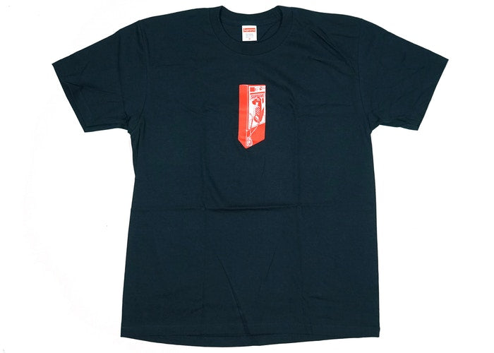 "SUPREME PAYPHONE TEE ""NAVY"""