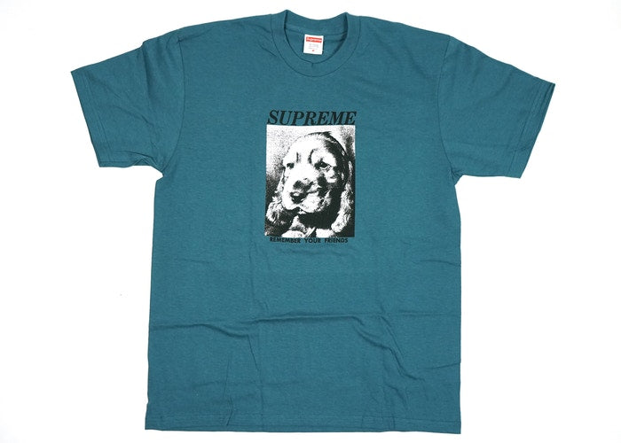 "SUPREME REMEMBER TEE ""SLATE"""