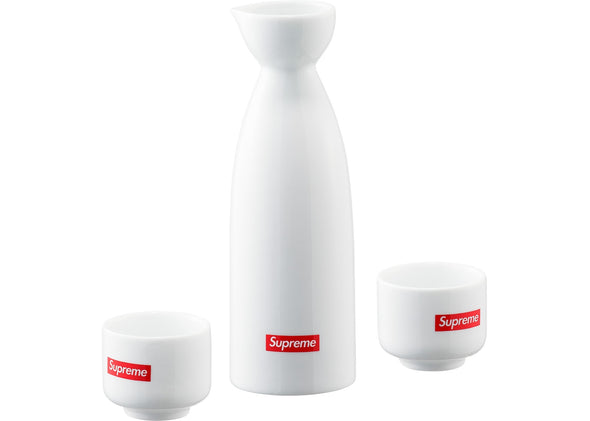 SUPREME SAKI SET WHITE