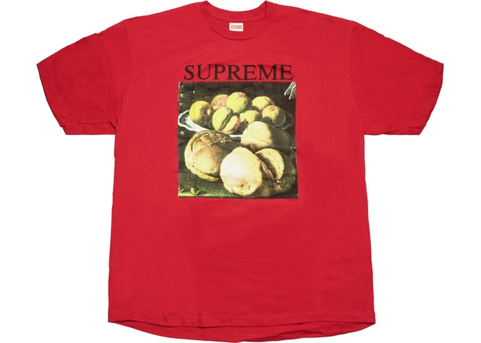 "SUPREME STILL LIFE TEE ""RED"""
