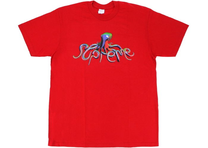 SUPREME TENTACLE TEE ''RED''