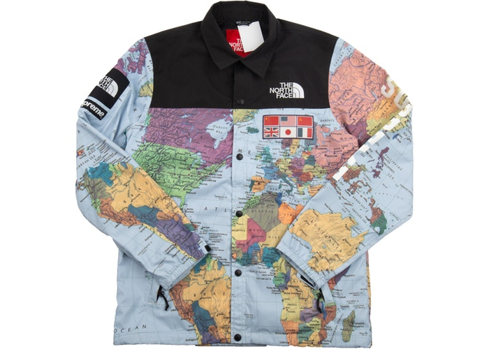 "SUPREME x TNF EXPEDITION COACH JACKET ""MULTI"""