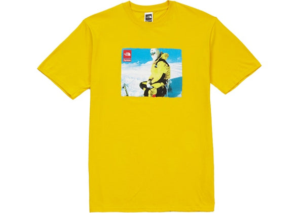 "SUPREME x THE NORTH FACE TEE ""YELLOW"""