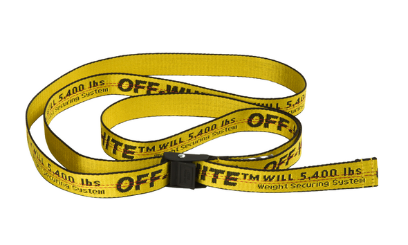 "OFF- WHITE INDUSTRIAL BELT ""YELLOW"""