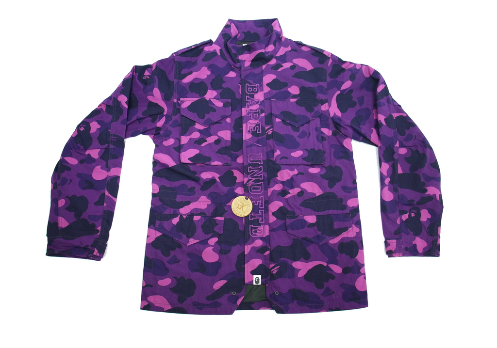 "BAPE x UNDFTD ABC M-65 ""PURPLE CAMO"""