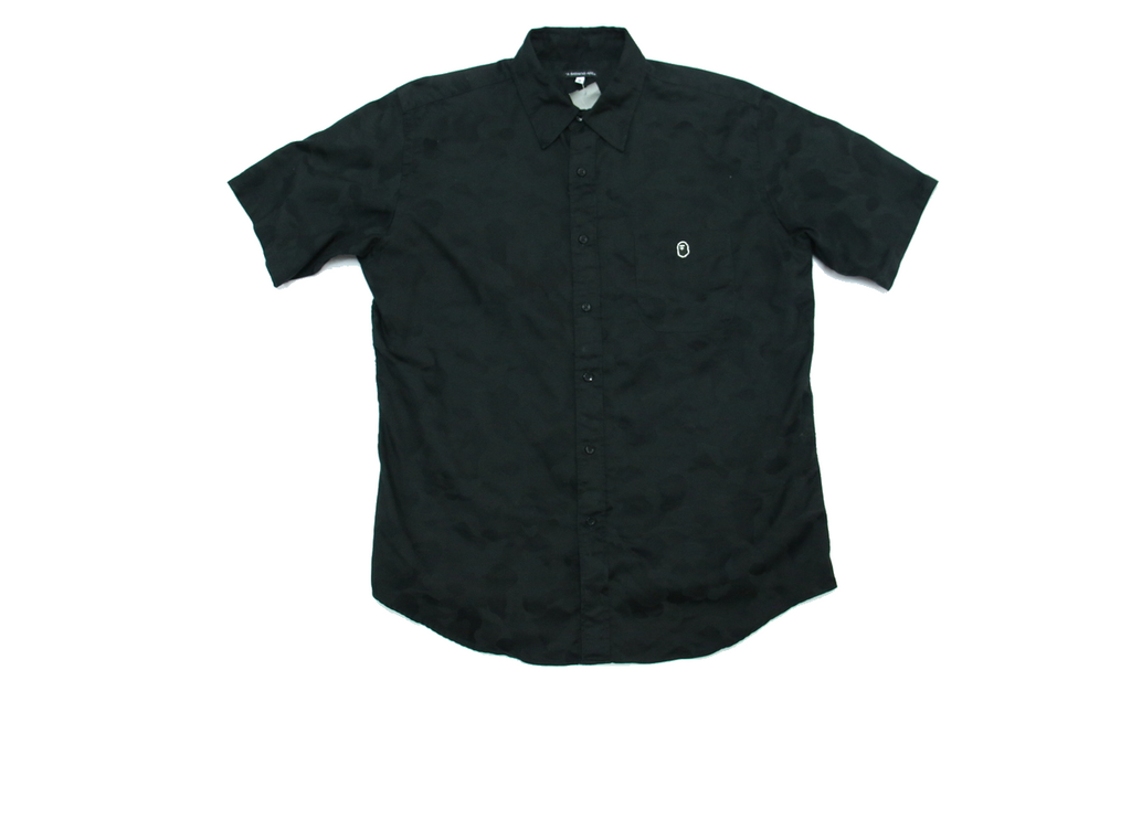 "BAPE HALF SLEEVE SHIRTS ""BLACK"""