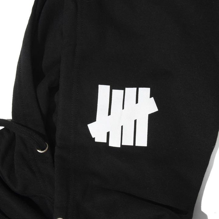 "UNDEFEATED X ANTI SOCIAL CLUB HOODIE ""BLACK"""