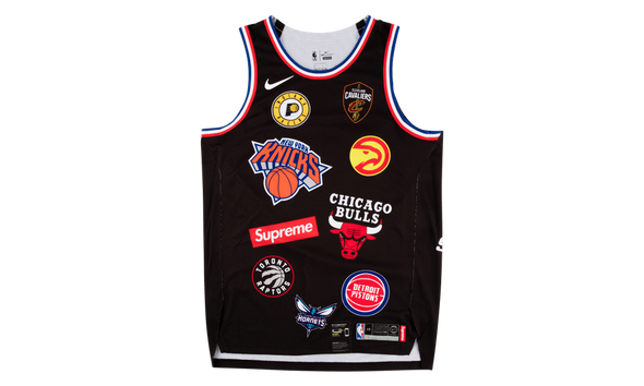 "SUPREME NIKE/NBA BASKETBALL JERSEY ""BLACK"""