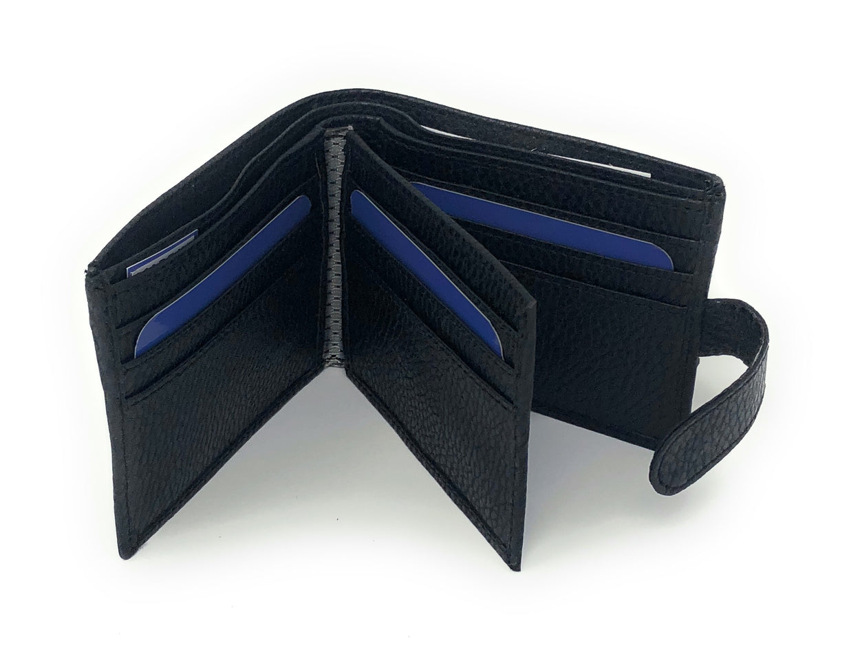 Ronaldo - Black Wallet For Men