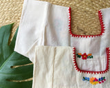 Mexican Dress for Girls in Manta Calico