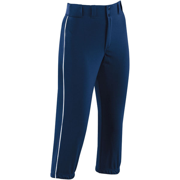 High Five Girls Piped Prostyle Low-rise Softball Pant