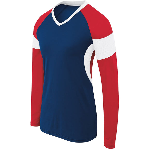 High Five Womens Ls Raptor Jersey
