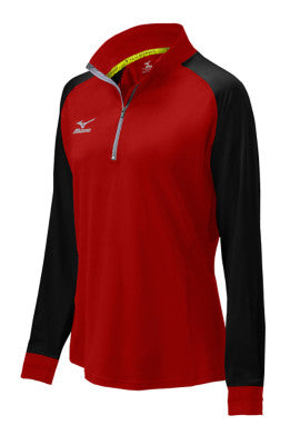 Mizuno Volleyball Youth Elite 9 Prime 1/2 Zip Jacket