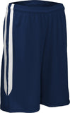 "GameGear PT4497W - Women's 7"" Basketball Short with Side Panel Inserts"