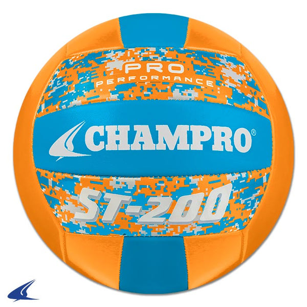 Champro ST-200 Beach Vball, Camo Opt. Orange: VB-ST200