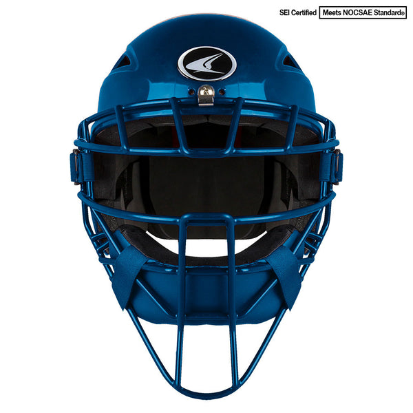 Champro Youth HEL-MAX One-Piece Headgear; Royal: CM3-XT