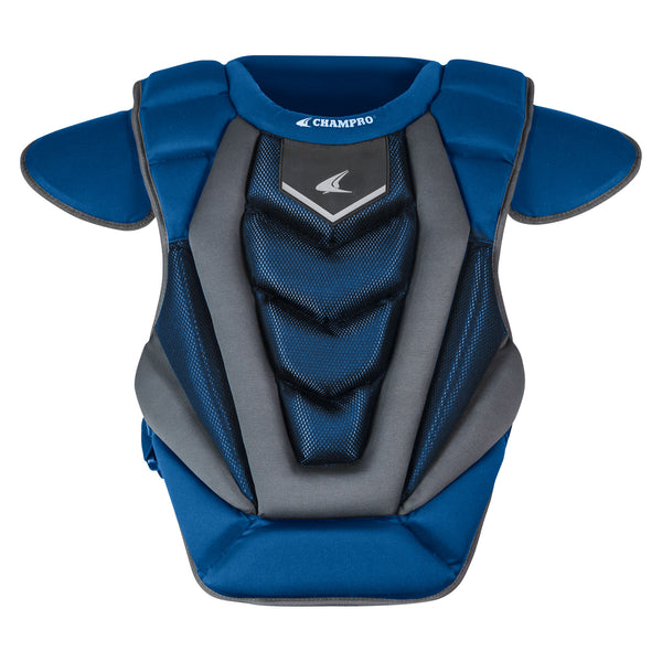 "Champro Optimus PRO Chest Protector; Royal; 16.5""L: CP181"
