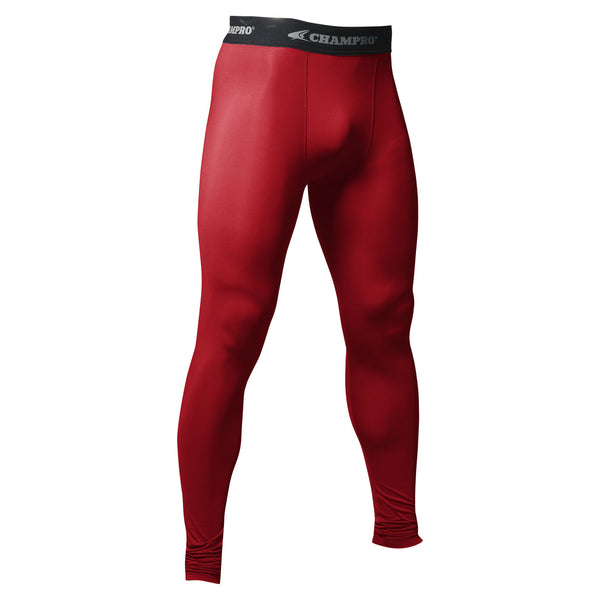 Champro Compression Tight; S; Scarlet; Adult: CS5