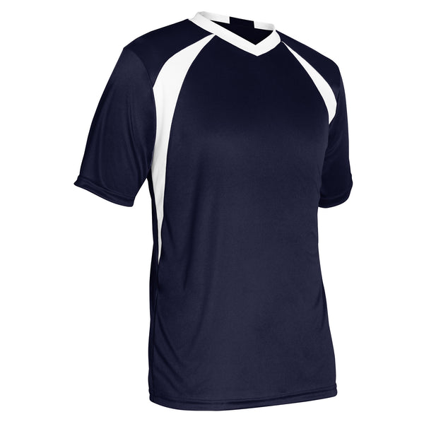Champro Sweeper Soccer Jersey; XL; Navy,White; Adult: SJ30