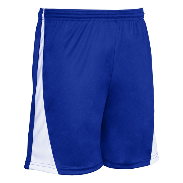 Champro Sweeper Soccer Short;XS;Royal,White;Youth; XS; Royal,White; Youth: SS30
