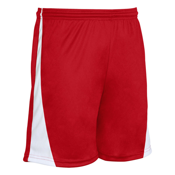 Champro Sweeper Soccer Short;S;Scarlet,White;Adult; S; Scarlet,White; Adult: SS30