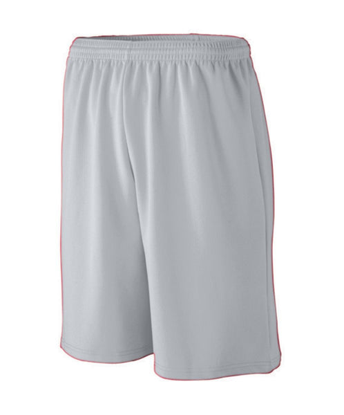 Longer Length Wicking Mesh Athletic Short - Youth