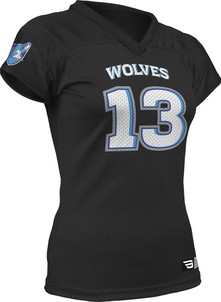GameGear AD995FW - Women's Fanwear Football Jersey