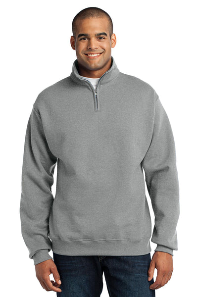JERZEES - NuBlend; 1/4-Zip Cadet Collar Sweatshirt. 995M