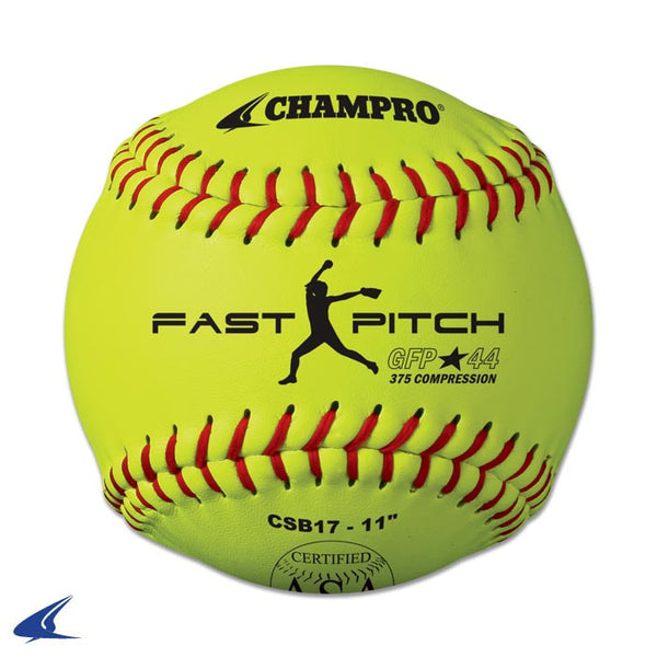 "Champro ASA 11"" Fast Pitch - Synthetic Cover: CSB17"