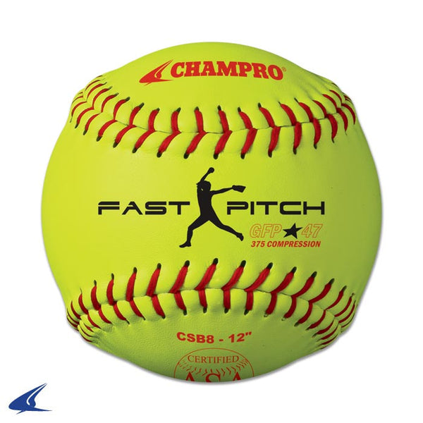 "Champro ASA 12"" Fast Pitch - Durahide Cover: CSB8"