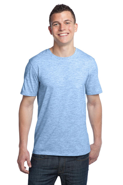 District - Young Mens Extreme Heather Crew Tee DT1000