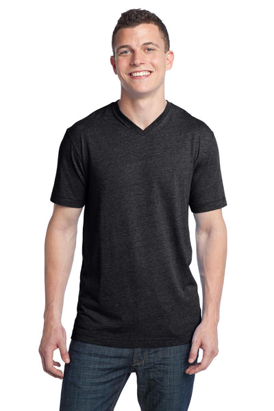 District - Young Mens Tri-Blend V-Neck Tee DT142V