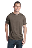 District - Young Mens Tri-Blend Crew Neck Tee. DT142