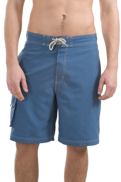 CLOSEOUT District Contrast Waist Boardshorts.  DT405