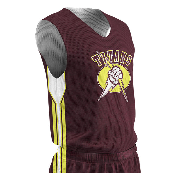Champro Juice Practice Men's Traditional Cut Reversible Jersey; S; Youth: J-BBJ4ZN