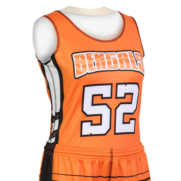 Champro Juice Women's Fitted Cut Single-Ply Reversible Jersey; S; Girls': J-BBJW6