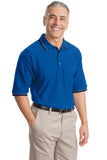 CLOSEOUT Port Authority Cool Mesh Polo with Tipping Stripe Trim. K431