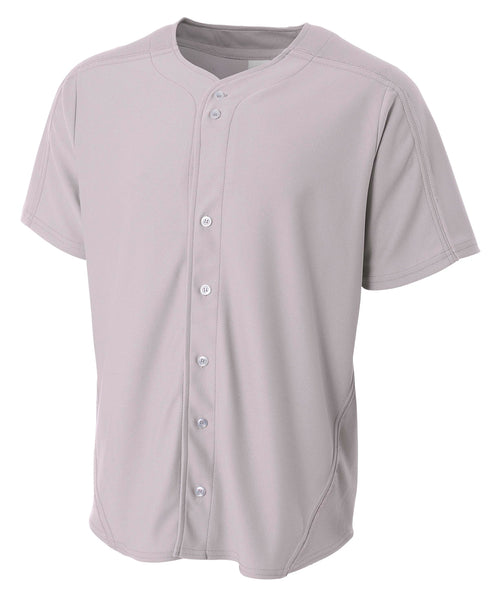A4 Warp Knit Baseball Jersey; MENS
