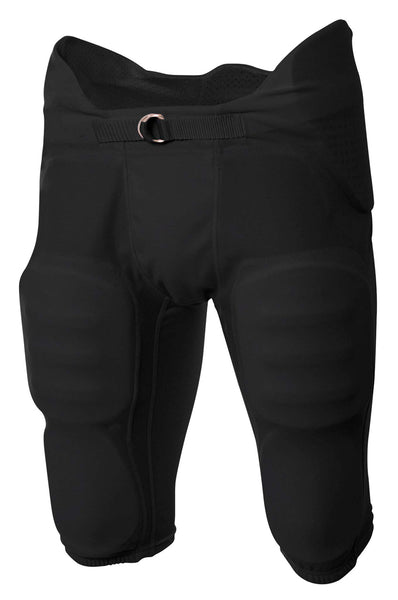 A4 Flyless Integrated Football Pant; boys/ youth