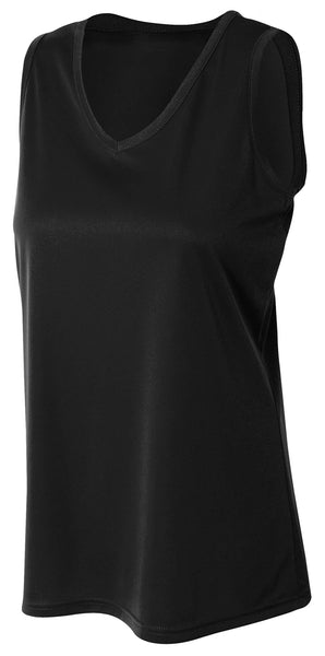 A4 Athletic Tank; WOMENS
