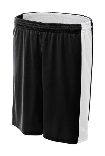 "A4 8"" Reversible Moisture Management Short; WOMENS"
