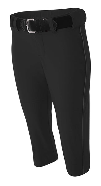A4 Softball Pant with Piping; WOMENS