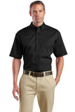 CornerStone - Short Sleeve SuperPro Twill Shirt. SP18