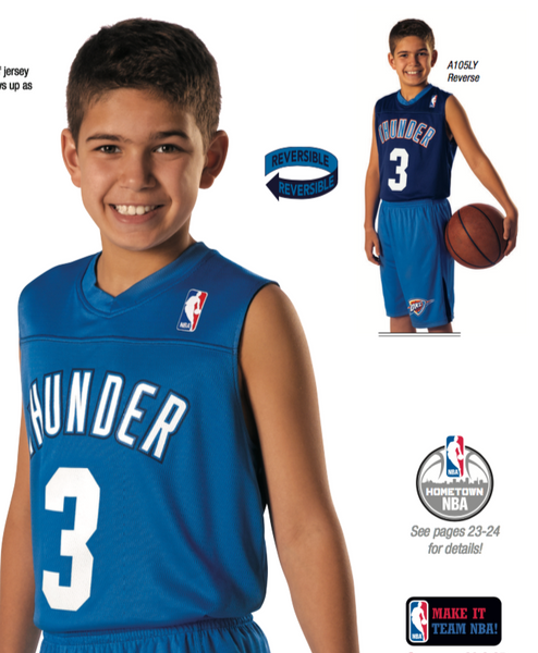 cheap NBA reversible jersey