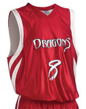 Teamwork Youth Downtown Reversible Basketball Jersey   style 1409