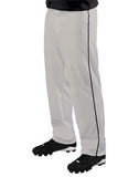 Teamwork Adult 12 oz. Big Show Piped Baseball Pant   style 3733