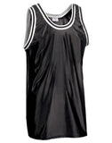 Teamwork Adult Old School Basketball Jersey   style 1426
