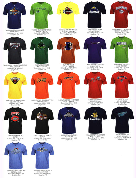 Minor League Evolution Youth Tee, 1 of 2